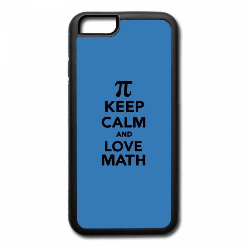 keep calm and love math iPhone 7 Plus Case