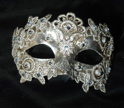 Colombina macramè donna argento SA10 | Masking and Masquerades