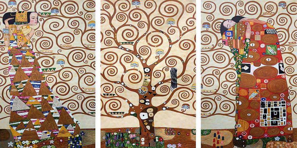 рассказ дерево жизни климт постер слову, российском календаре