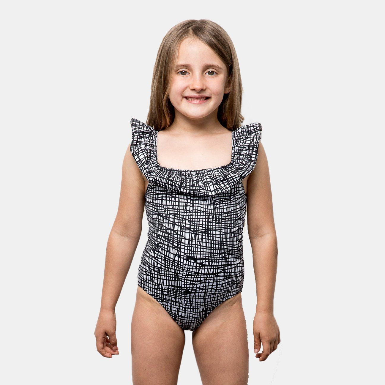42fef5636318 One piece Fully lined Suggested fit: 5-12 years old Model wearing size 5/6  Made in Los Angeles Also available in Black. Need a different size?
