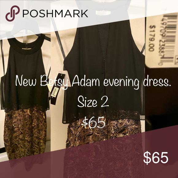 17++ Betsy adam gold dress trends