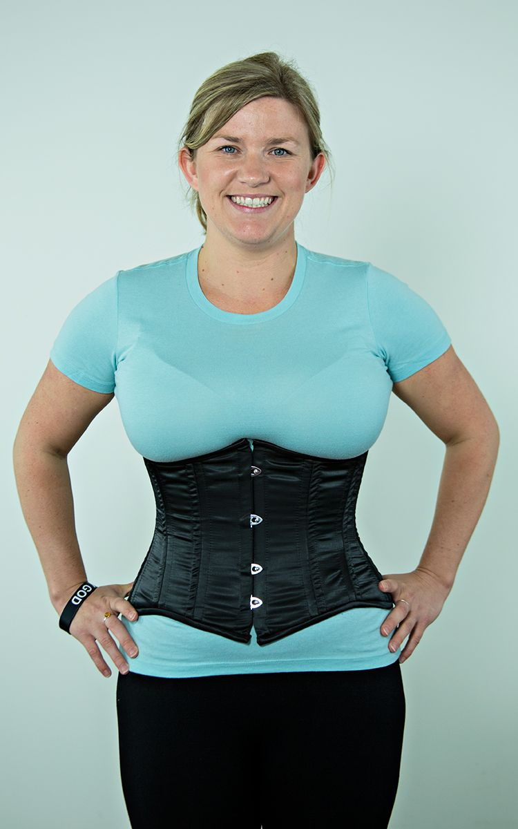 19344c0892e How a Corset Shapes Your Waist - Before   After Pics