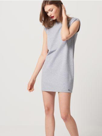 bfe8e65b Mohito - Sukienka z wiązanym dekoltem na plecach Sukienka z dżerseju ...