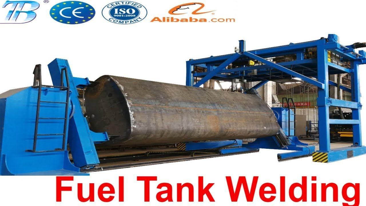 Fuel Tank Bowser Automatic Welding Welding Welding Positioner Welding Equipment