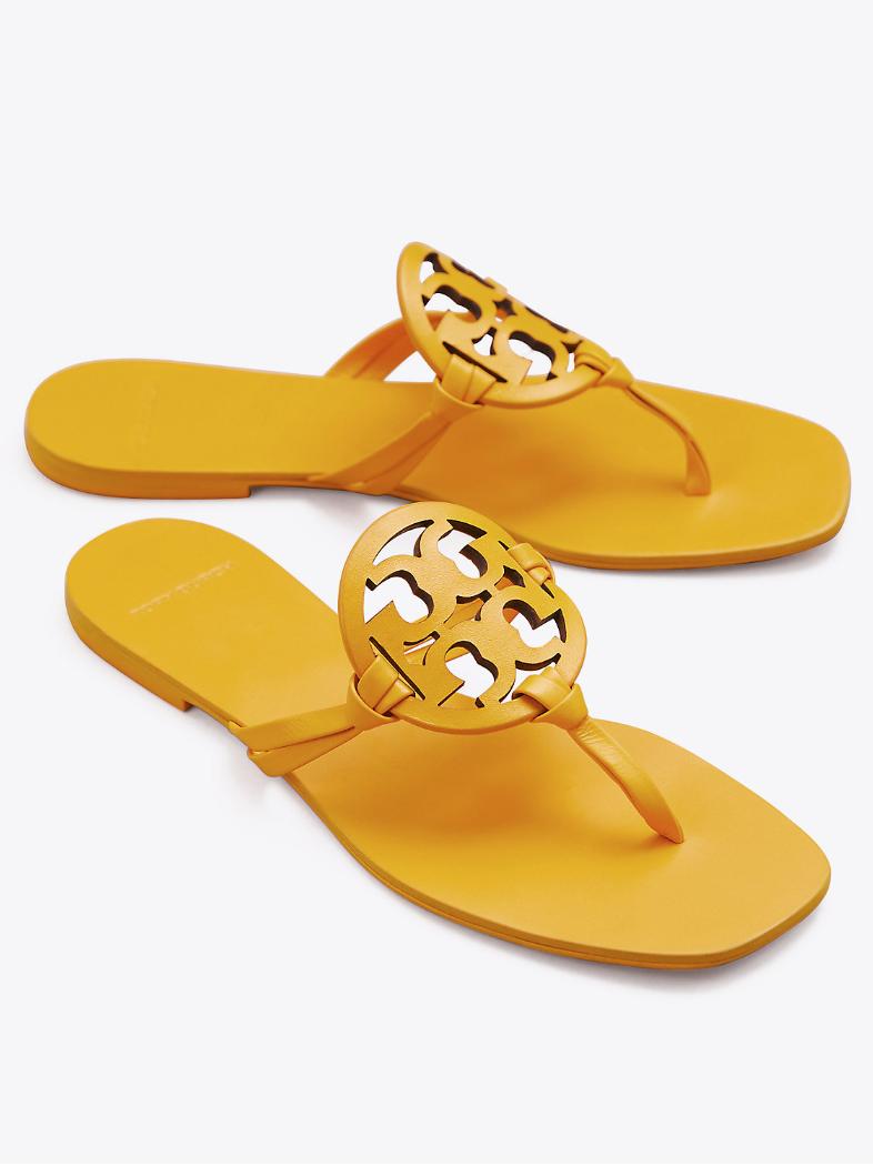 9b5e8ca3f9ad58 Tory Burch Miller Square-Toe Sandals