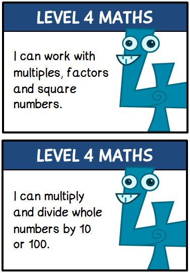 Maths Targets - Treetop Displays - EYFS, KS1, KS2 classroom display ...