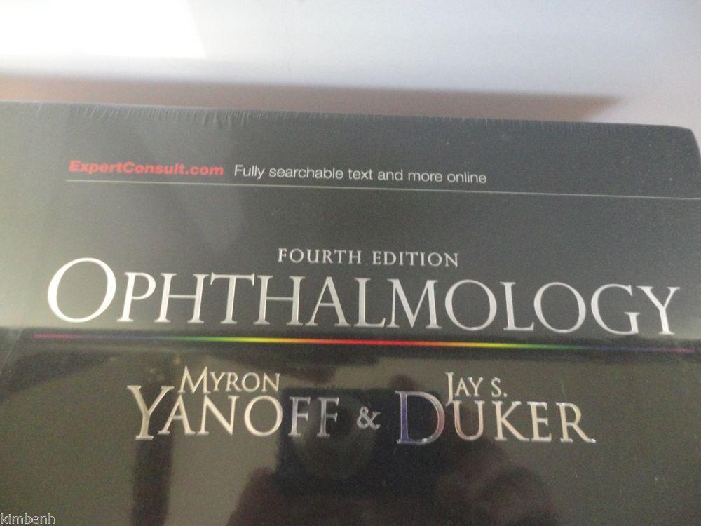 New Ophthalmology By Myron Yanoff Hardcover Book English Hardcover Book Hardcover Textbook