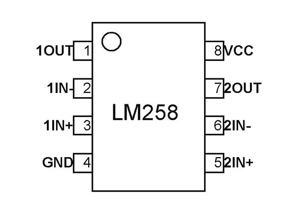 Lm258 Dual Op
