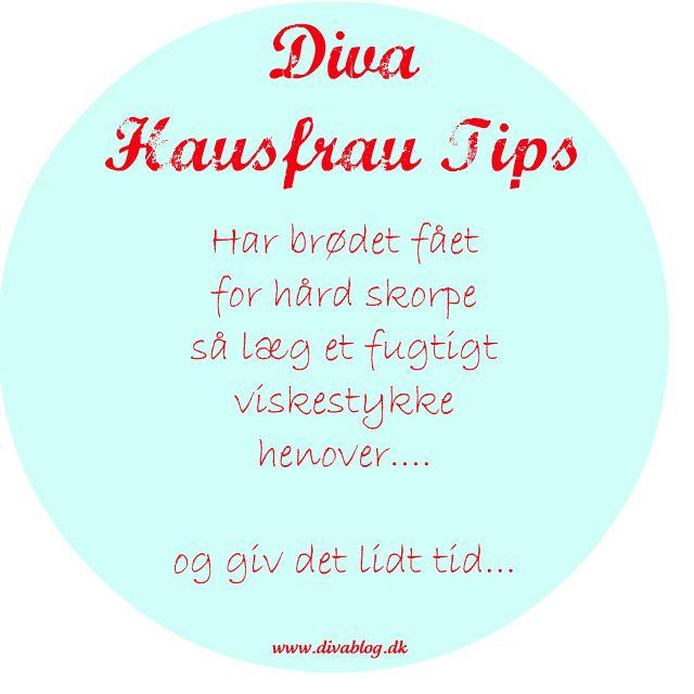 P.s. Har du gode Hausfrau tips eller tips til andre sider med gode tips, så skriv dem endelig i kommentarfeltet.    //