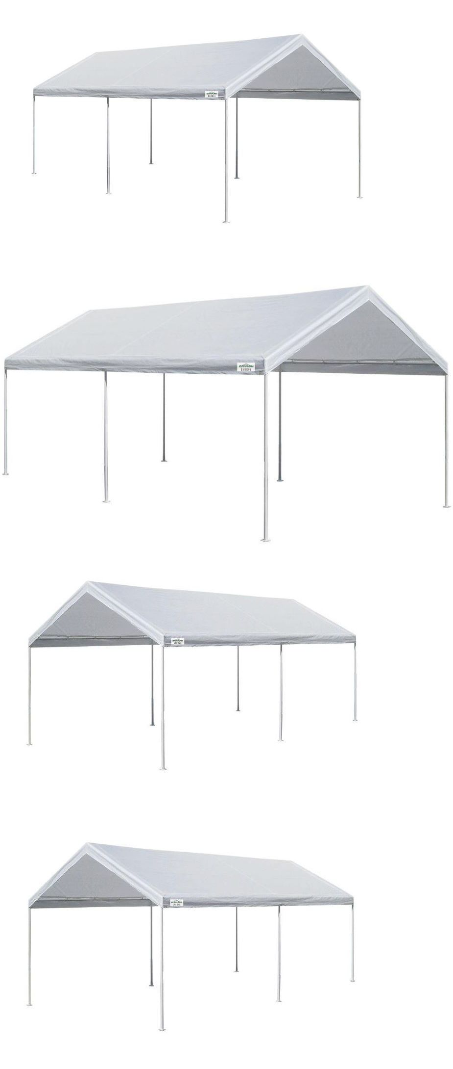 Awnings and Canopies 180992: Canopy Tent Carport Portable Garage ...