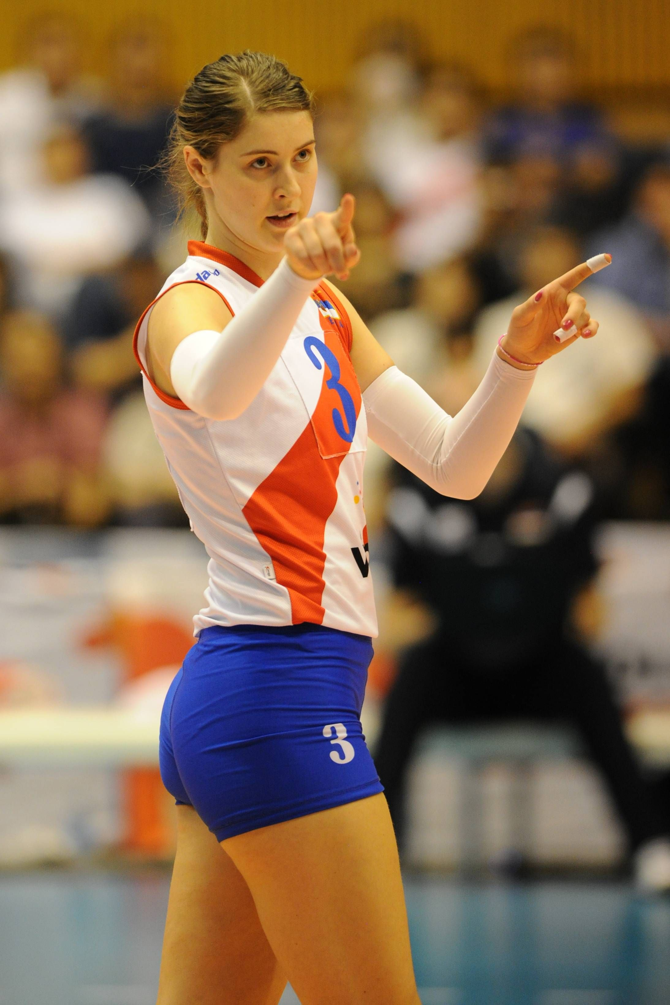 Bianka Busa Serbian Female Volleyball Player Women Volleyball Female Volleyball Players Volleyball Players