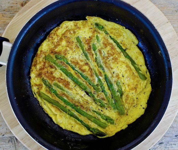mediterranean diet recipe steamed asparagus