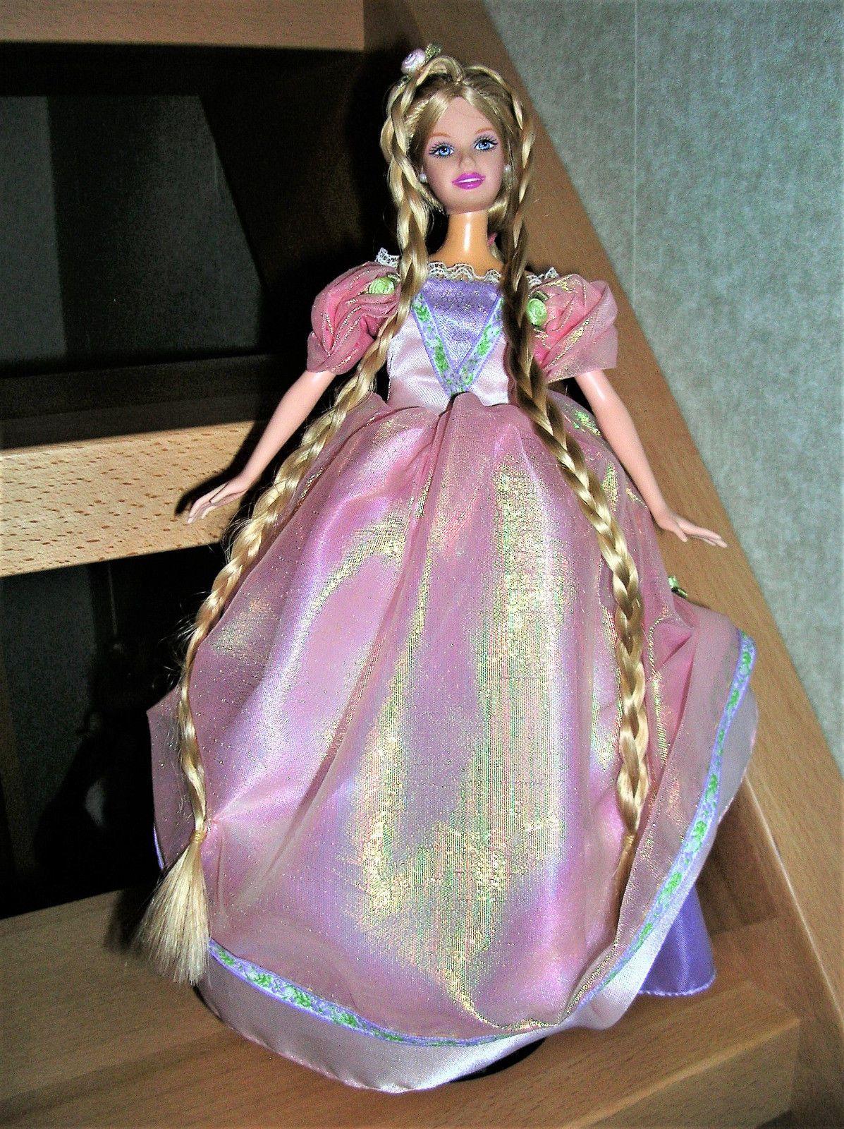 Barbie Rapunzel Collector 2001 Pferd Horse Botticelli 2002 Set