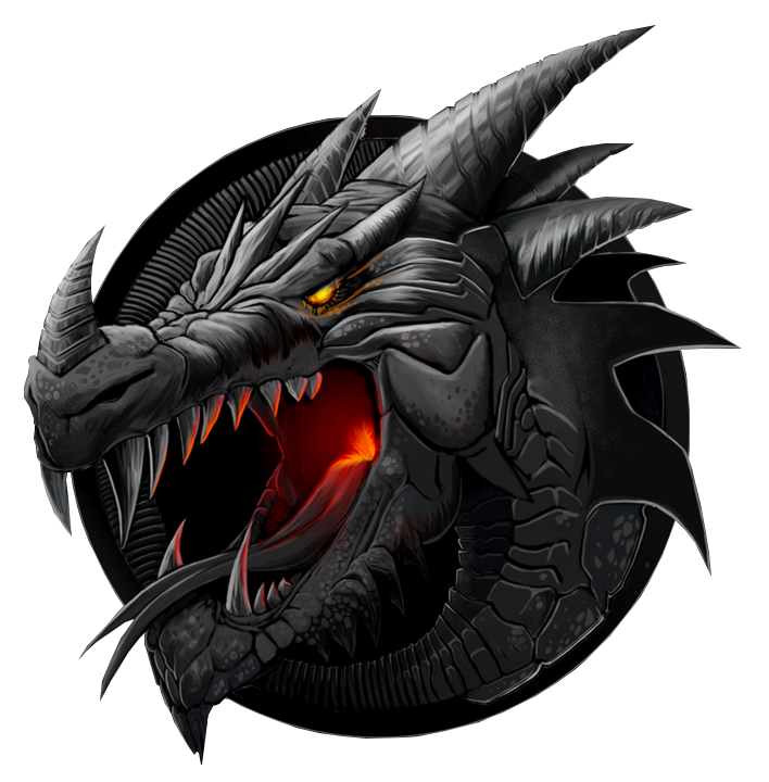 Dragon Png Transparent Dragon Png Images Pluspng Logo Dragon Black Dragon Dragon