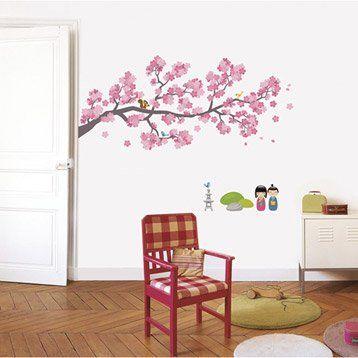 Sticker Branches cerisiers 49 cm x 69 cm
