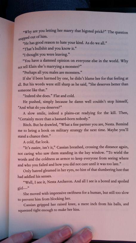 Part 13 Of The Bonus Scene With Nesta And Cassian Bookofademigod
