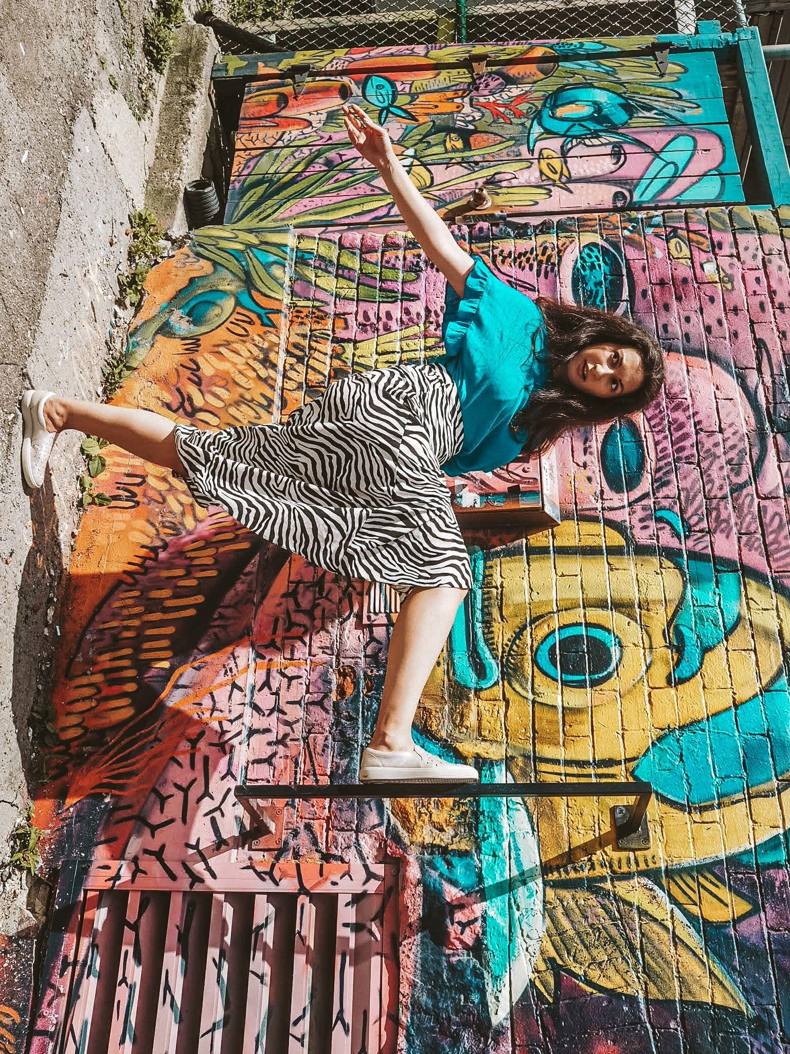 City guide toronto graffiti artwork city st james park