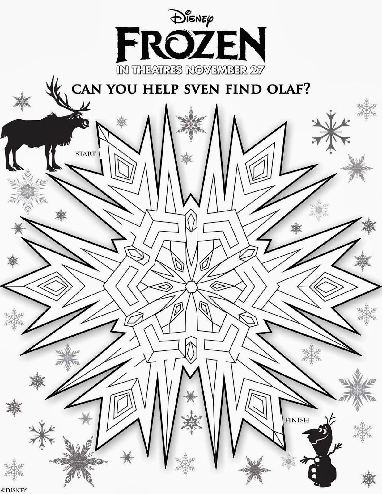 Frozen Free Printable Activity Pack. | Shea\'s party | Pinterest ...