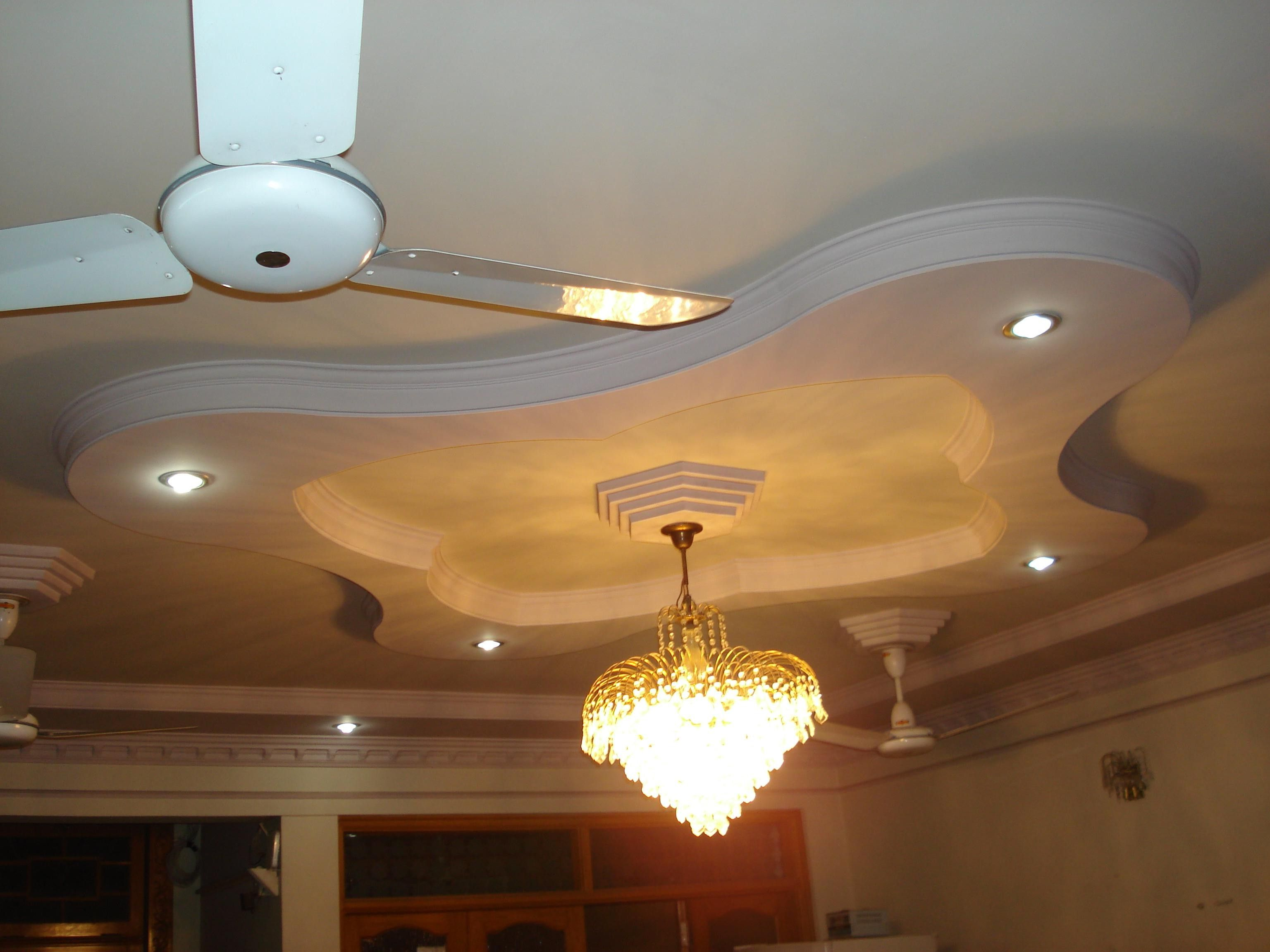 Pop Ceiling Design For Hall With 2 Fans Wallpaperall Pop