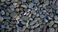 How To Make A River Rock Shiny With A Water Seal River Rock Bathroom Diy River Rock Rock Tile