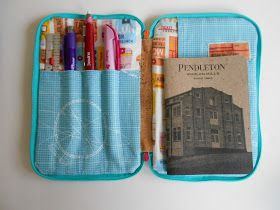 Running With Rocket: Sketch Wallet - link to instructions, and Kathy has some great variations
