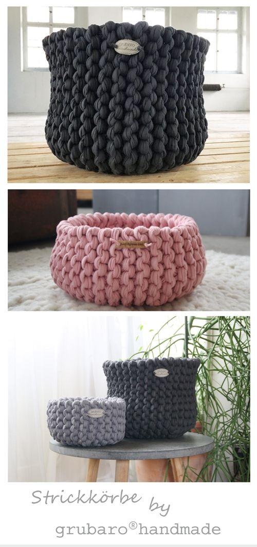 pin von steffi auf handmade produkte aus dem textilo shop pinterest korb h keln textilgarn. Black Bedroom Furniture Sets. Home Design Ideas
