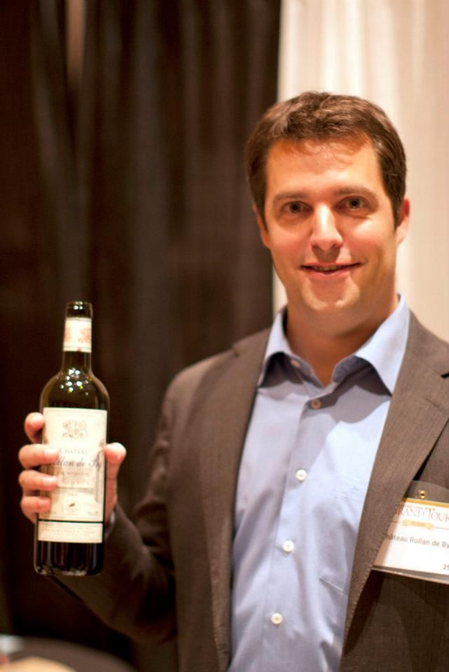 With Lionel Tonnerieux at The Mirage Hotel and Casino during the Wine Spectator 2012