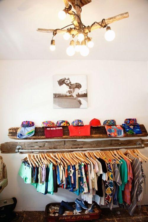 Erstaunlich Kleiderständer selber bauen - 25 DIY Garderobenständer | Projekty  QO79