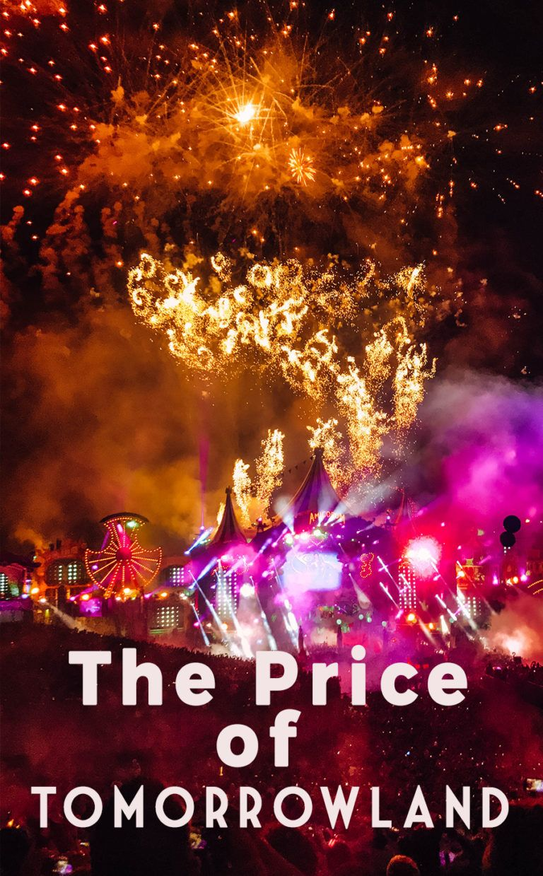 How much does it cost to go to tomorrowland