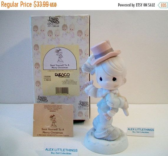 HAPPY SALES Precious Moments Figurine Soot by ALEXLITTLETHINGS