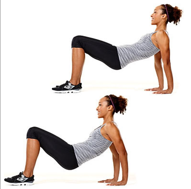 4 Moves For Buff Arms Eat Fit Fuel Fitness Tricep Dips Treadmill Workouts