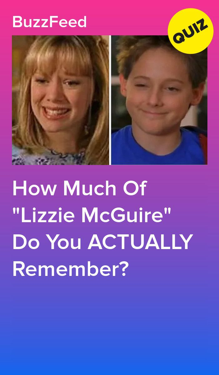 How Much Of Lizzie McGuire Do You ACTUALLY Remember?
