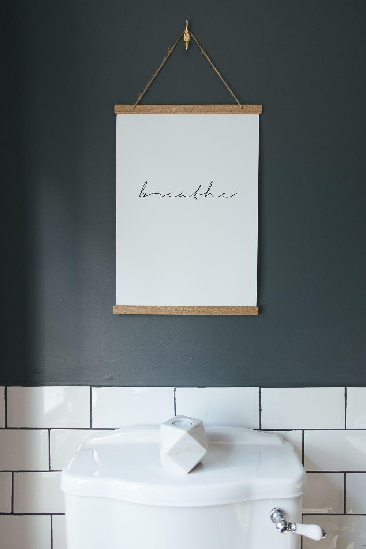Choosing a light or dark bathroom colour scheme for a small space #bathroomart