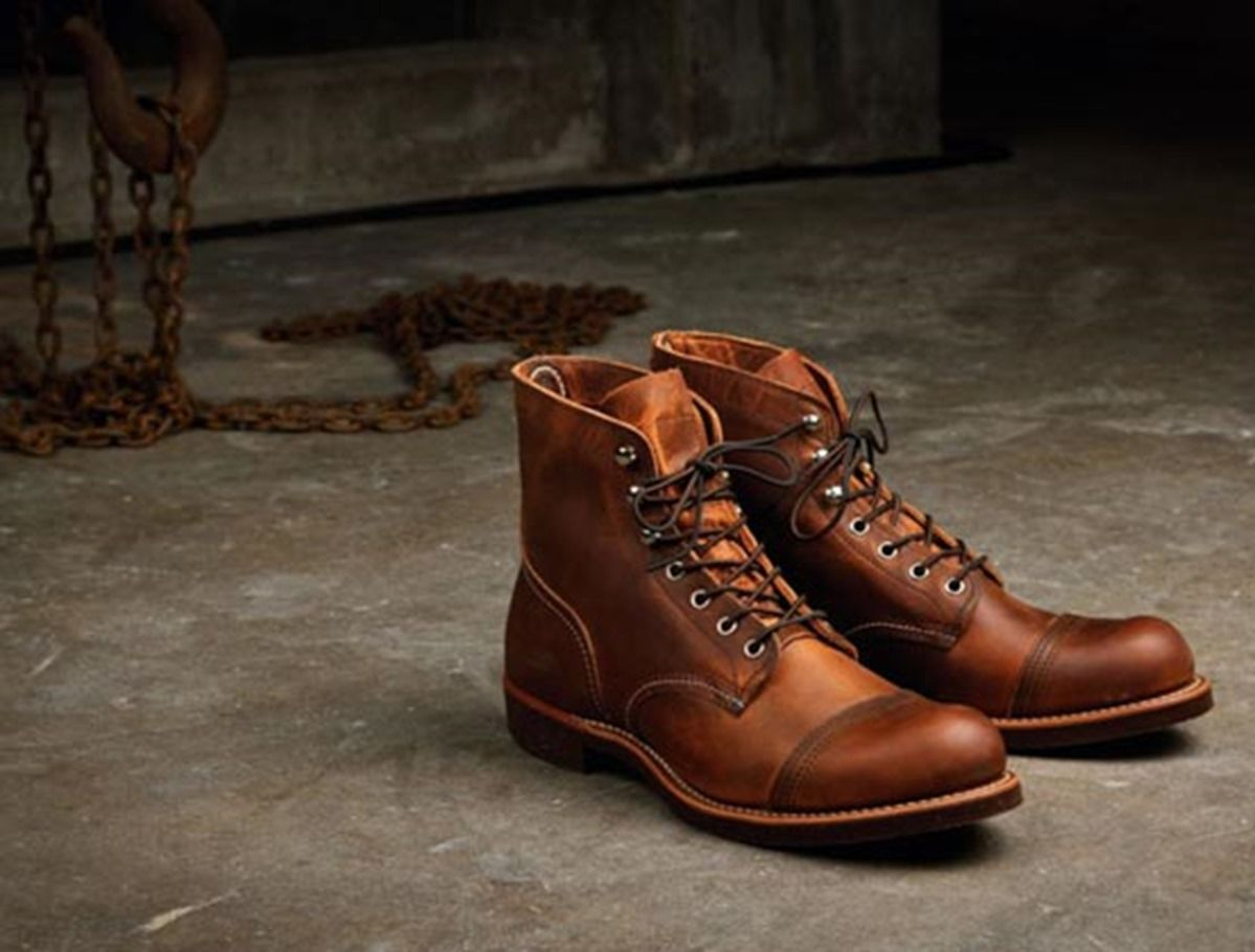Red Wing Iron Rangers - man i love boots