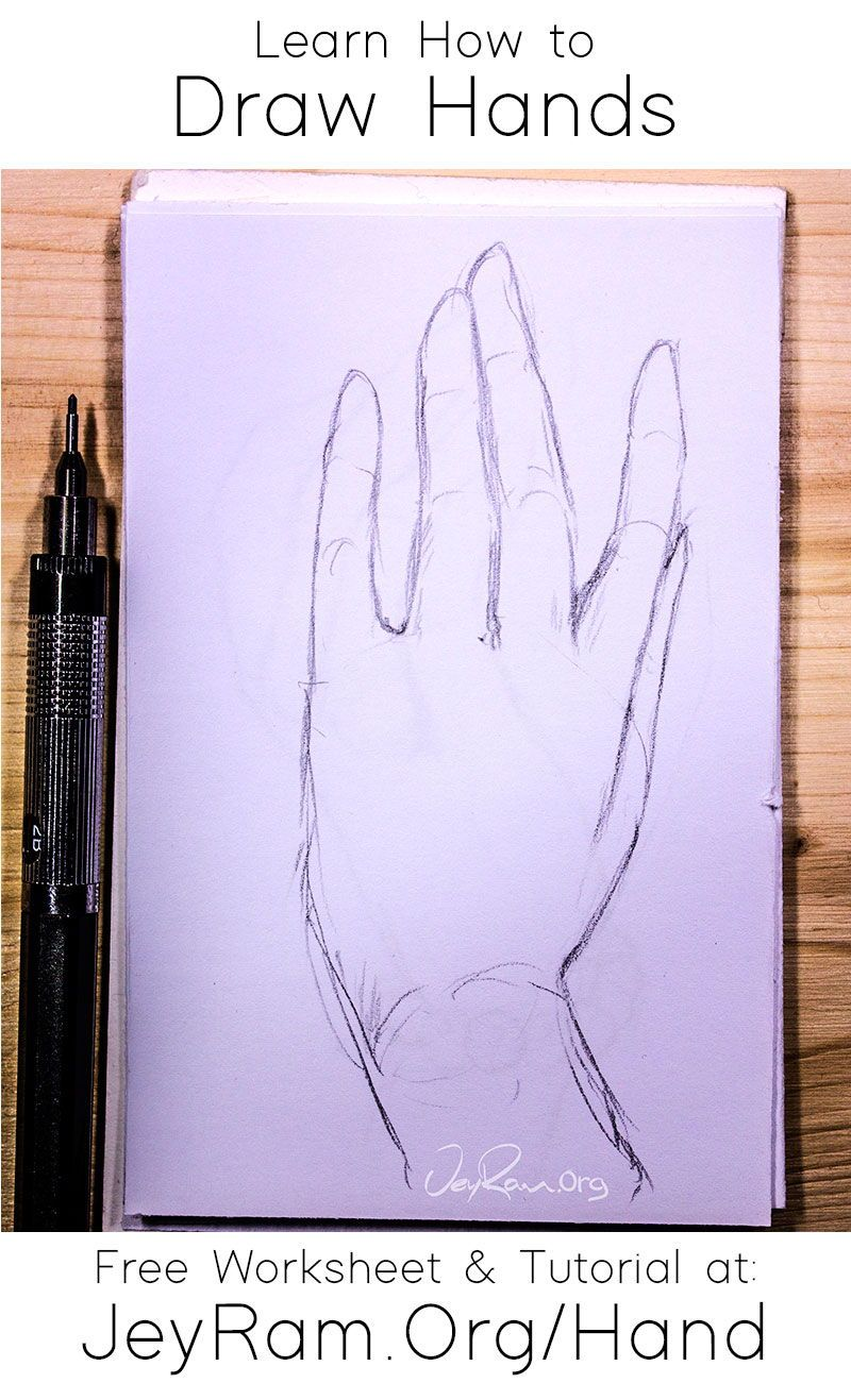 How To Draw Hands Free Worksheet In 2020 Concept Art Drawing Art Drawings Beautiful Hand Drawing Reference