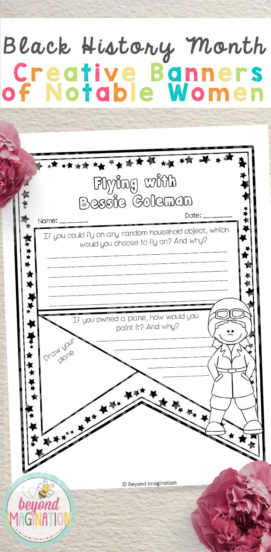Black History Activities Women Printable Worksheets