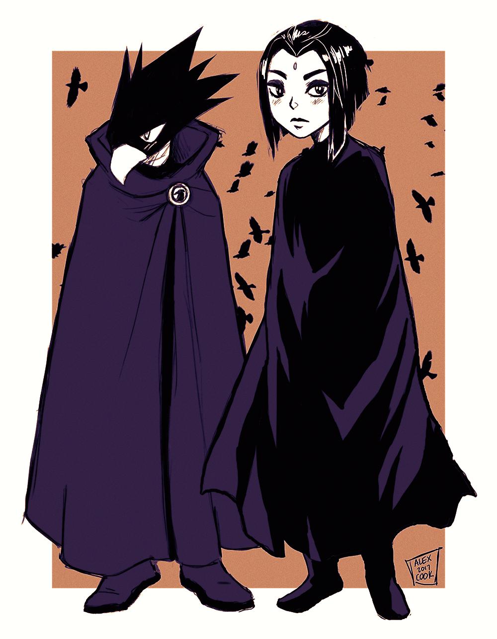 ⚡ ⚡ ⚡ ⚡ ⚡ ⚡ ⚡ ⚡ — outfit swap for you tokoyami x raven