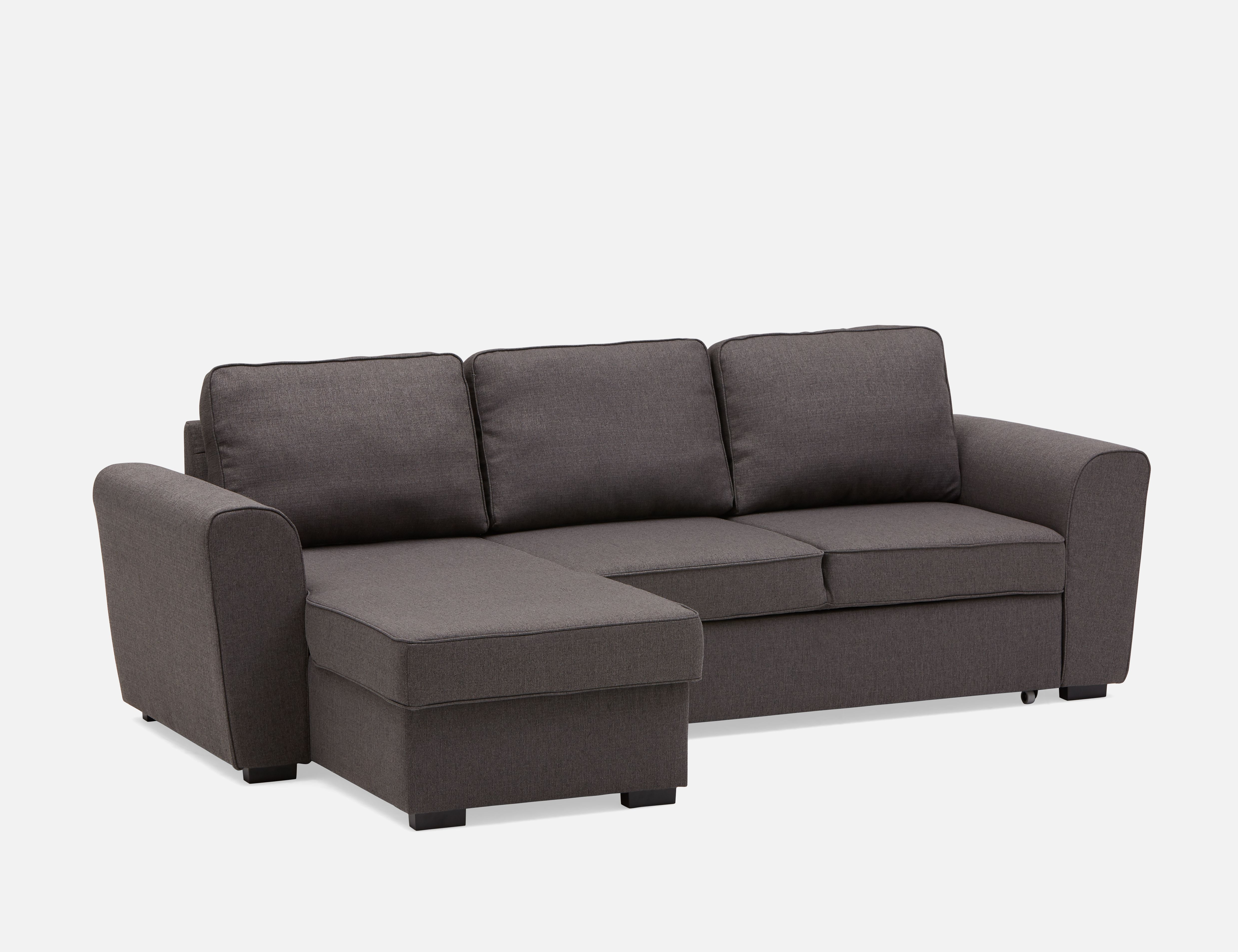 Grey Interchangeable Sectional Sofa Bed With Storage Structube