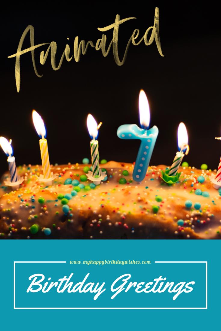 10 Happy Birthday Animated Gif Birthday Wishes For Friend Happy Birthday Fun Birthday Wishes For Him