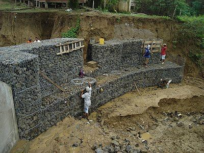 muro gaviones