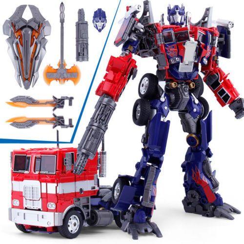 M01 Transformers Oversize Movie Evasion Optimus Prime action figure kids toys