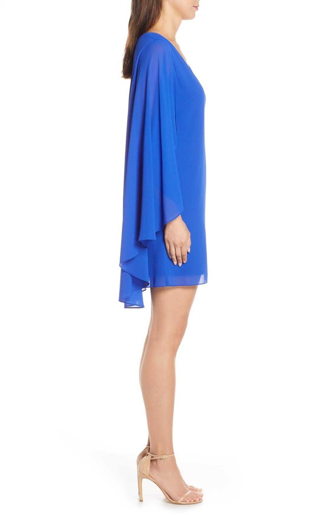 Vince Camuto Cape Back Shift Dress Regular Petite Nordstrom Shift Dress Dresses Fashion [ 1746 x 1140 Pixel ]