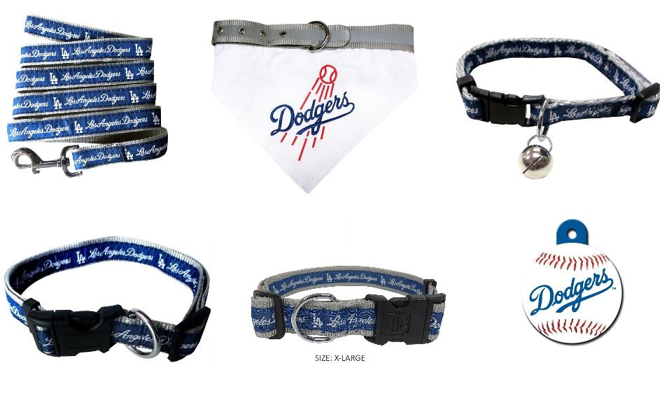 Los Angeles Dodgers Dog and Cat MLB Licensed Leash 55cf519e652