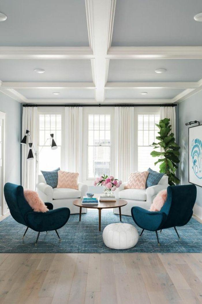 ▷ 1001+ Idées pour aménager ses espaces en couleur bleu ...