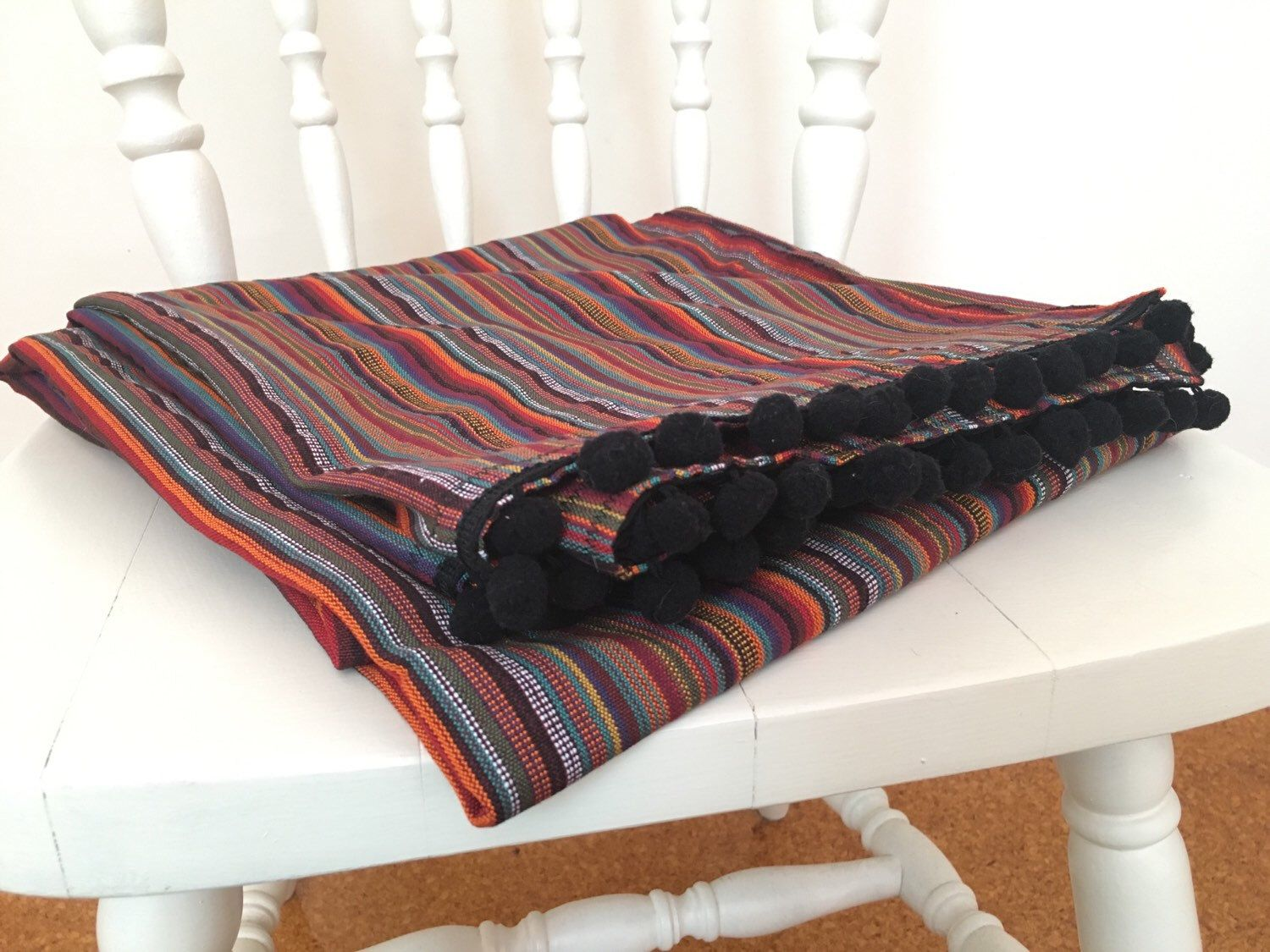 Boho Throw Blankets Mexican Throw Boho Blanket Colourful Rug Mexican Tapestry Boho