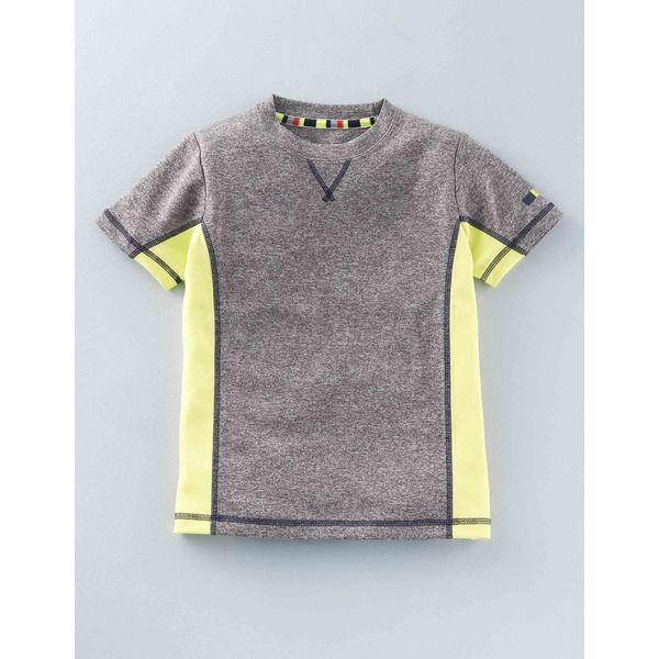Boden Sportliches T-Shirt Dunkelgrau Jungen Boden