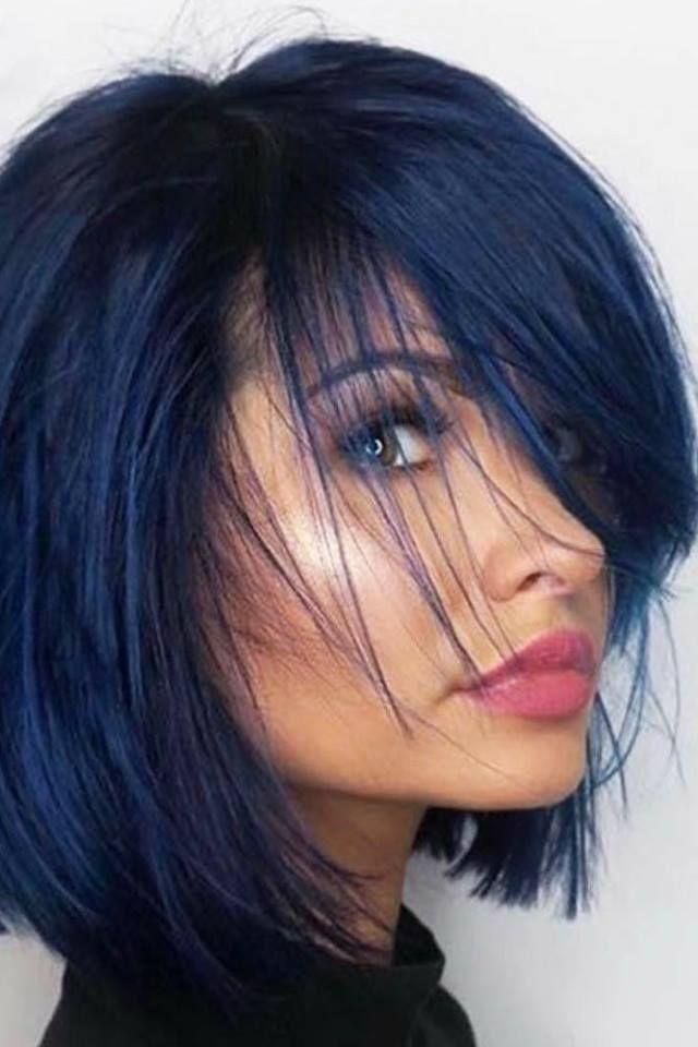 Les Coiffures Du Second 10 Tendances En Coupes Courte A Tester Absolument A Absolument Coiffures Hair Color For Black Hair Hair Color Blue Hair Lengths