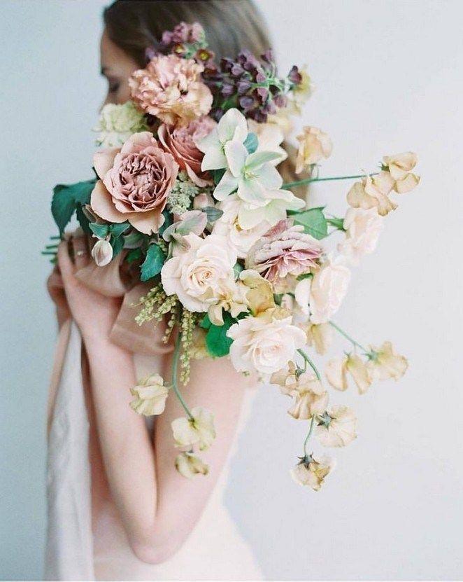 ✔ 30 romantic spring & summer wedding bouquets 00011 #fantasticweddingbouquets