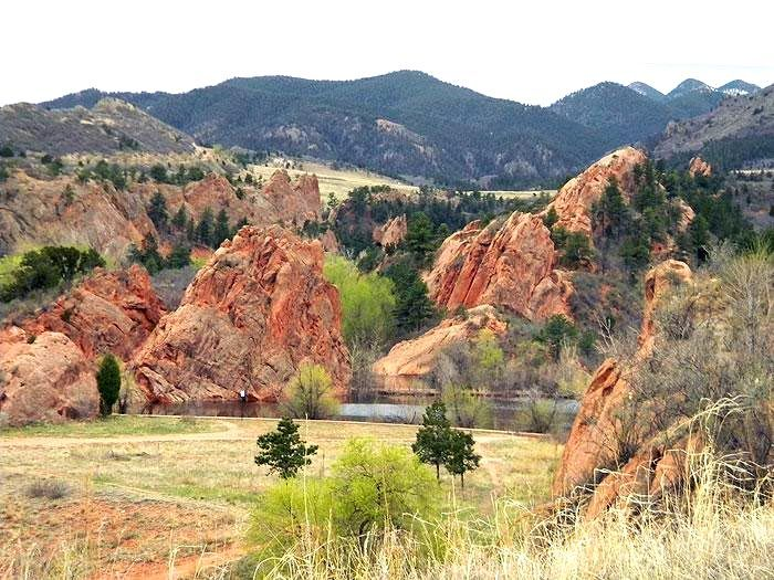 Image result for red rock canyon open space colorado springs
