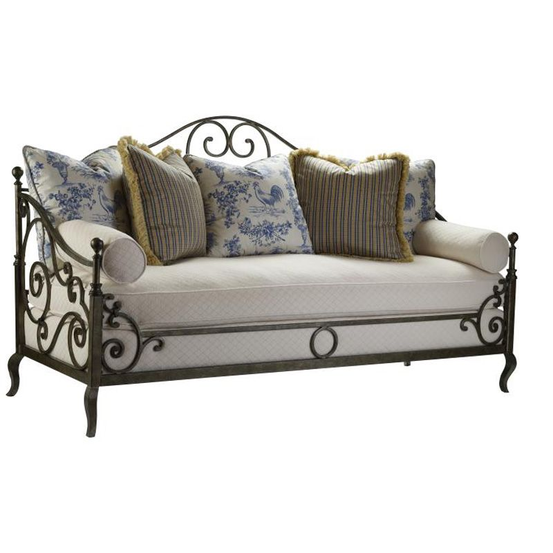 Discount Country Furniture: Highland House 4148-80 French Country Provence Iron Sofa